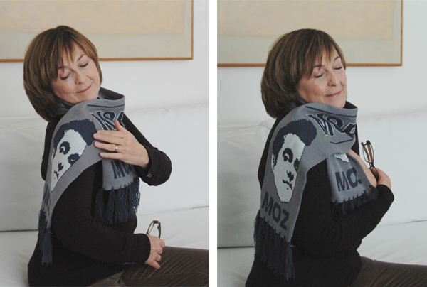 Mommy in a Moz scarf 2