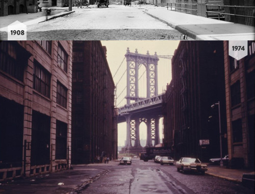 Manhattan Bridge, 1908 & 1974 & 1984