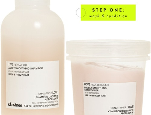 Davines Love Smoothing shampoo & conditioner
