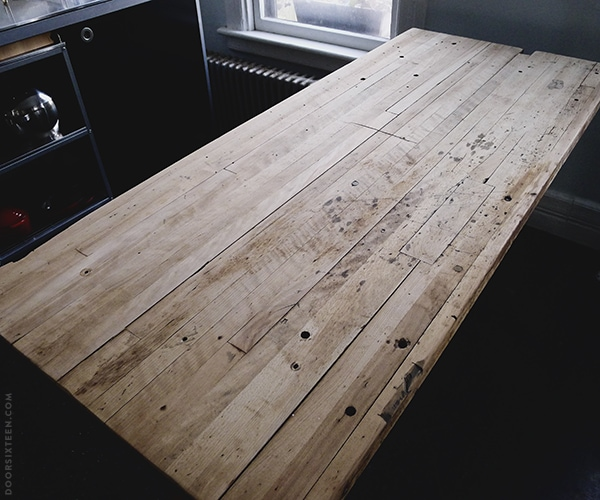doorsixteen_worktable_aftersanding1