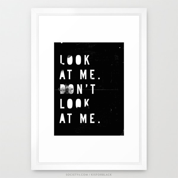 doorsixteen_Kisforblack_lookatmeframed