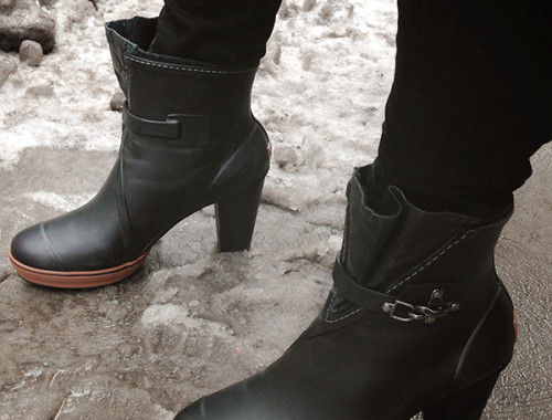 Snow Melting Ice And The Stupidest Best Boots