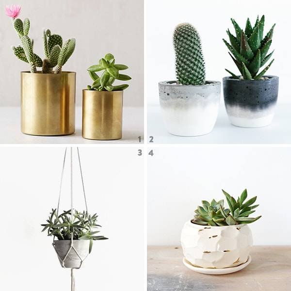 Wishlist: Indoor pots and planters. | Door Sixteen