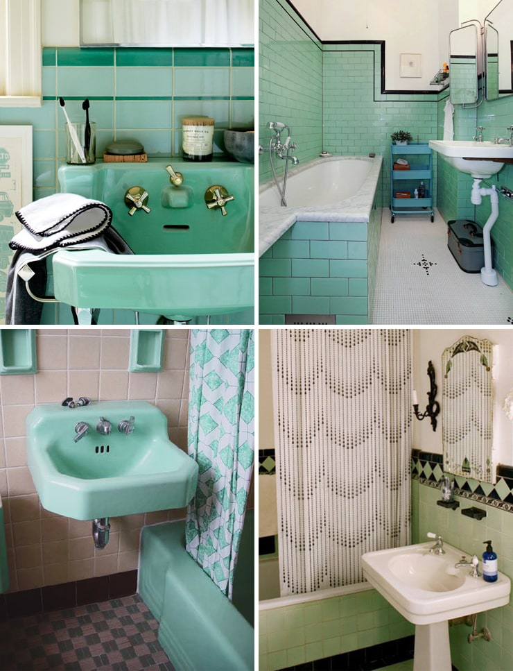 Mint Green Bathrooms Door Sixteen