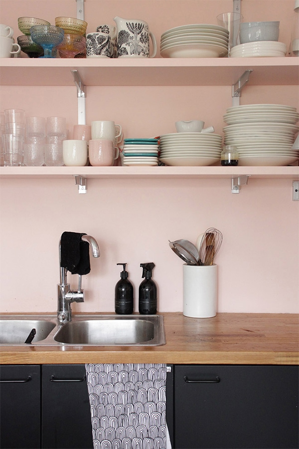 Pink Kitchen Walls pink kitchens. | door sixteen