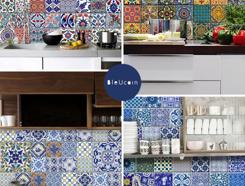 BleUcoin tile decals - doorsixteen.com