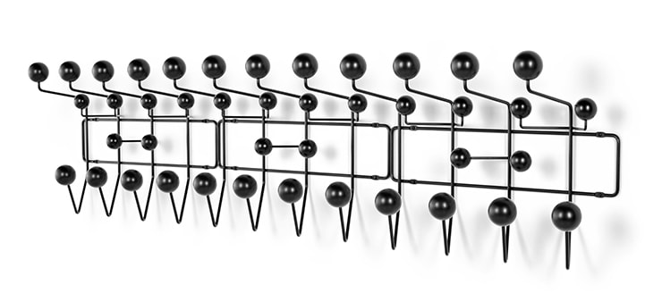 Eames Hang-It-All, black - doorsixteen.com