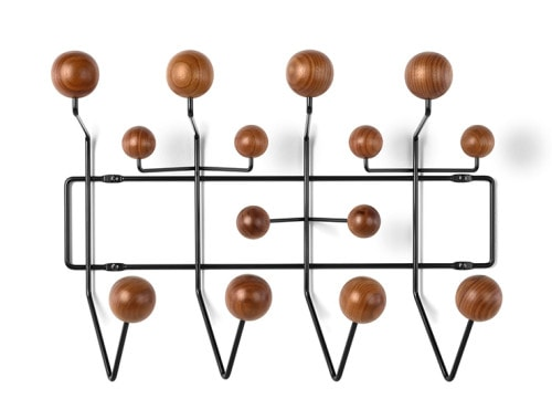 Eames Hang-It-All, black/walnut - doorsixteen.com