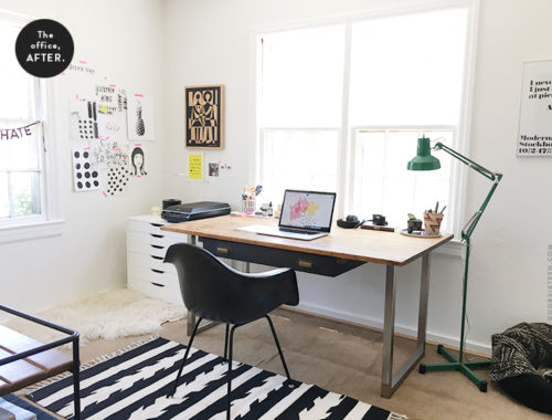 Office makeover - doorsixteen.com
