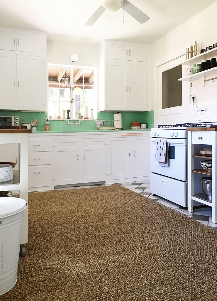 Kitchen makeover - doorsixteen.com