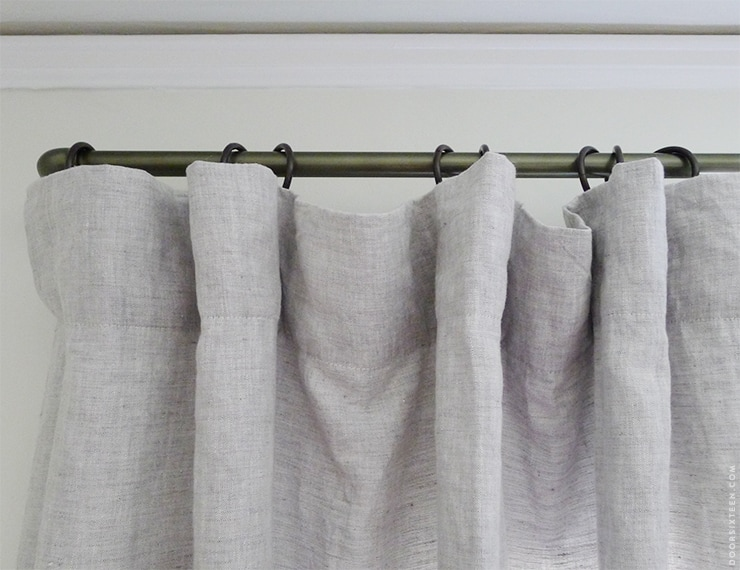 Dining room curtains from Barn & Willow. | Door Sixteen