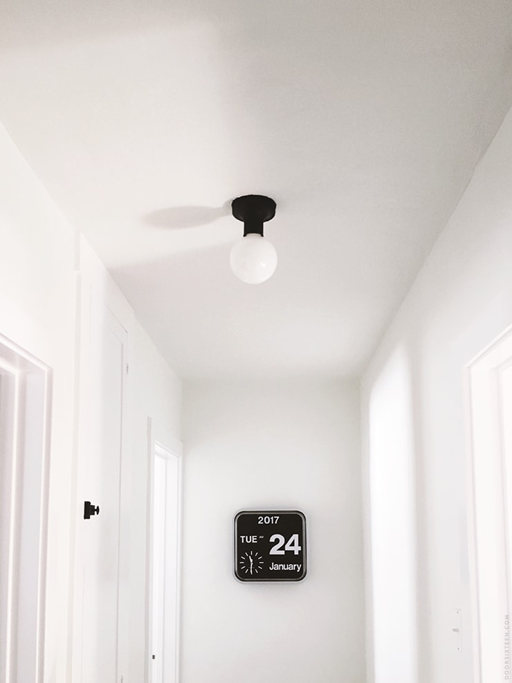 Light Fixture Makeover - doorsixteen.com